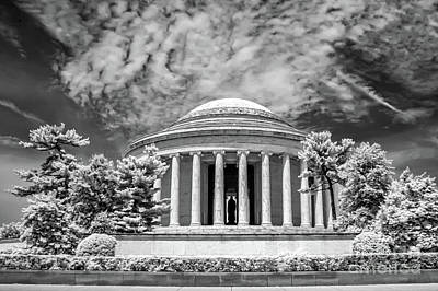 Jefferson Memorial Print by Anthony Sacco
