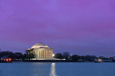 Washington Monument Photograph - Jefferson Monument by Sebastian Musial