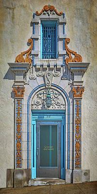 Jefferson Street - Door And Window Print by Nikolyn McDonald