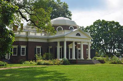 Thomas Jefferson Digital Art - Jeffersons Monticello by Bill Cannon