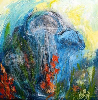 Jelly Fish Original by Nicole Slater