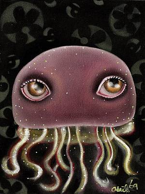 Jellyfish Print by  Abril Andrade Griffith