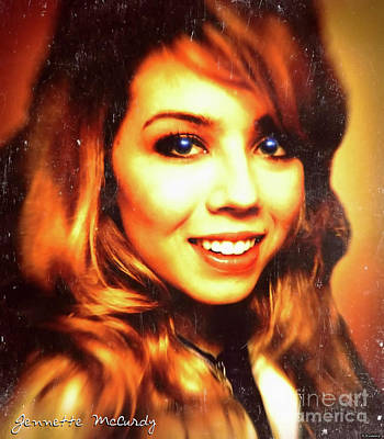 Pucketts Digital Art - Jennette Mccurdy - Beautiful by Robert Radmore