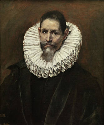 Man Painting - Jeronimo De Cevallos by El Greco
