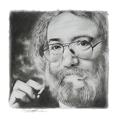 Drawing - Jerry Garcia by Don Medina