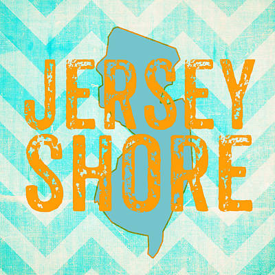 Nj Mixed Media - Jersey Shore by Brandi Fitzgerald