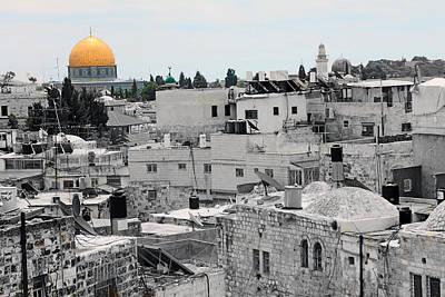 Jerusalem In Grief Print by Munir Alawi