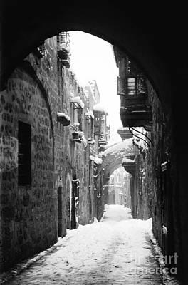 Via Dolorosa Painting - Jerusalem: Winter by Granger
