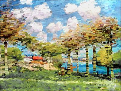 Jesen '15 Print by Ante Barisic