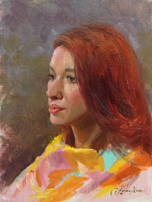 Jessica Portrait Demo Print by Anna Rose Bain
