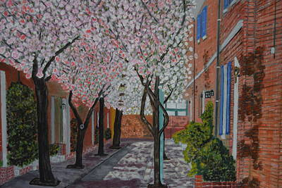 Jessup Street Original by Michael Walsh