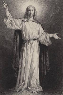 Jesus Christ Print by Albert Robida