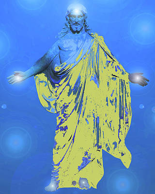 Jesus-energy. No. 11 Print by Ramon Labusch