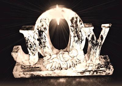 Manger Digital Art - Jesus Joy by Morgan Carter