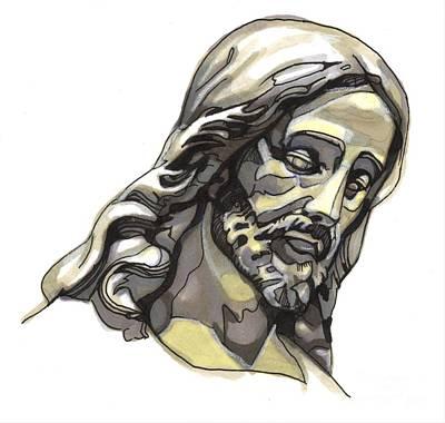 Jesus No 2 Original by Edward Ruth