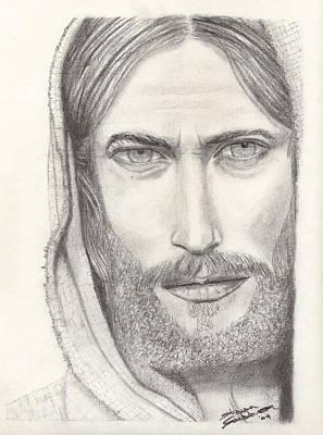 Jesus Of Nazareth Print by Shawn Sanderson
