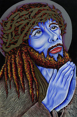 Jesus Peace Print by Nannette Harris