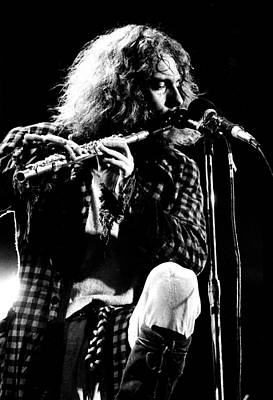 Perform Photograph - Jethro Tull 1970 No. 2  by Chris Walter