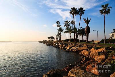 Jetty View Park Photograph - Jetty On Balboa Peninsula Newport Beach California by Paul Velgos