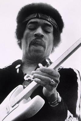 1970s Movies Photograph - Jimi Plays Berkeley, Jimi Hendrix, 1971 by Everett