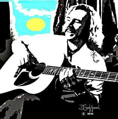 Jimmy Buffett Painting - Jimmy Buffett by Dave Gafford