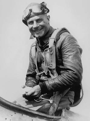 History Photograph - Jimmy Doolittle - Vintage Aviation Photo by War Is Hell Store