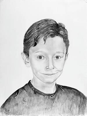 Orca Drawing - Jimmy by Mayhem Mediums