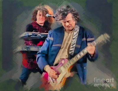 Jimmy Page Digital Art - Jimmy Page by Sergey Lukashin