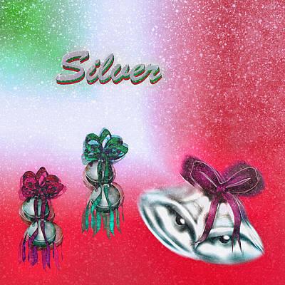 Jingle Bells - Silver Bells Print by Steve Ohlsen