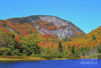 Photograph - Jnh October Crawford Notch by Patti Whitten