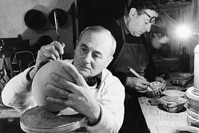 Joan Miro Print by Rapho Agence