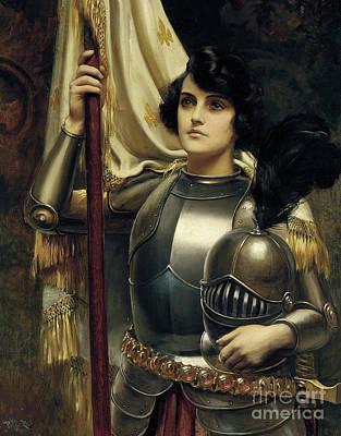 Joan Of Arc Print by Harold Hume Piffard