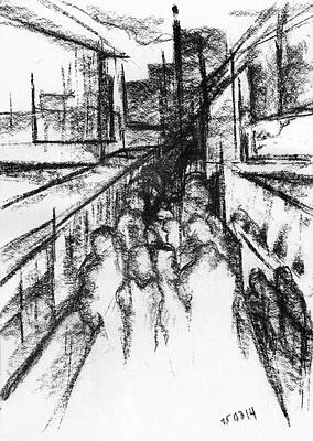Democracy Drawing - Frankenberg Material. 15 March, 2015 by Tatiana Chernyavskaya