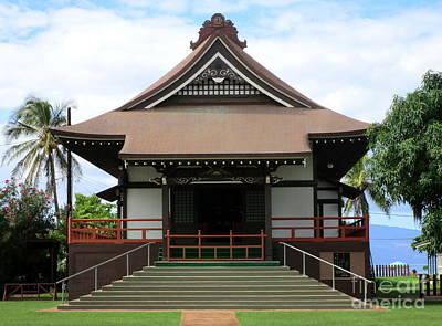 Jodo Mission Lahaina 11 Print by Randall Weidner