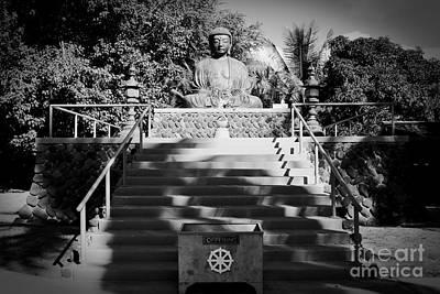 Jodo Shu Mission Lahaina Maui Print by Sharon Mau