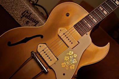 Joe Bonamassa Photograph - Joe Bonamassa 1953 Gibson E S-295 by Lisa Johnson