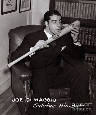 Joe Dimaggio Print by Science Source