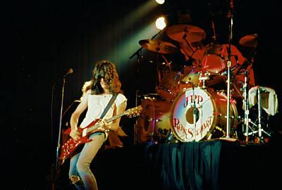 Aerosmith Photograph - Joe F'n Perry by Steve Pimpis