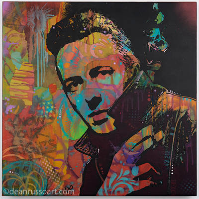Painting - Joe Strummer by Dean Russo
