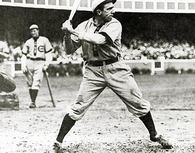 Baseball Uniform Photograph - Joe Tinker by American School