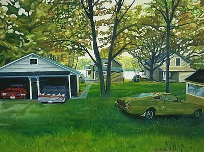 Joe's Cottage Print by Ryan Halliwell