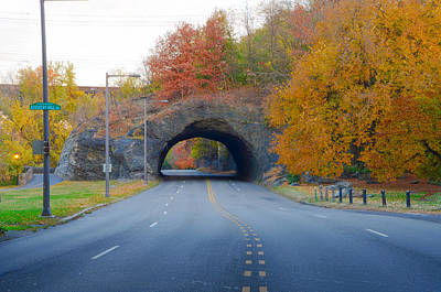 John B Kelly Drive In Autumn Print by Bill Cannon