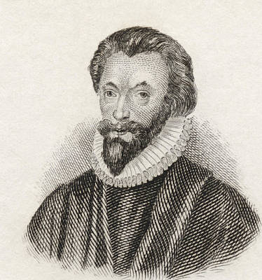 John Donne, 1572 To 1631. English Print by Vintage Design Pics
