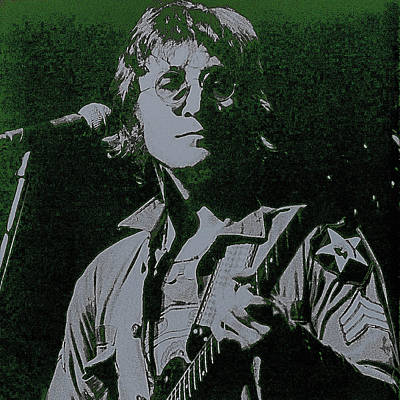 John Lennon Print by David Patterson