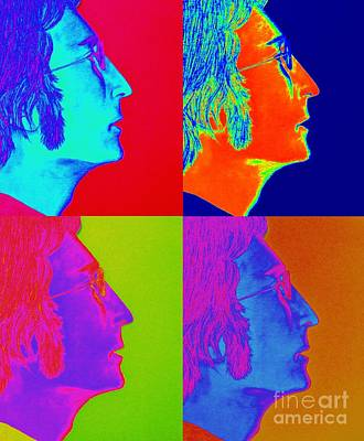 John Lennon Drawing - John Lennon Pop Art by Tania Eddingsaas