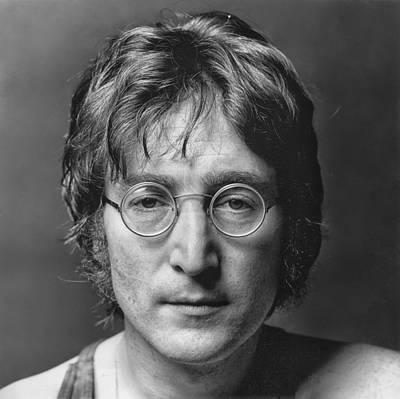 Ringo Starr Photograph - John Lennon Portrait by Hans Wolfgang Muller Leg