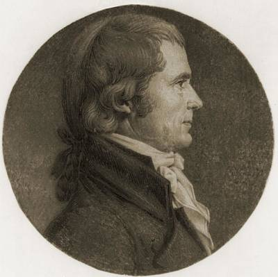 Chief Justice Photograph - John Marshall 1755-1835, Fourth Chief by Everett