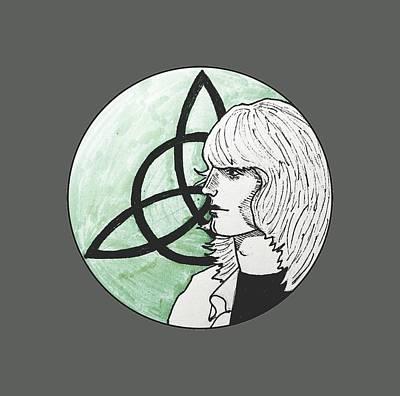Led Zeppelin Drawing - John Paul Jones by Sofia Vyalykh