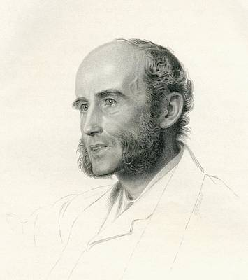 Historian Drawing - John Richard Green, 1837 To 1883 by Vintage Design Pics