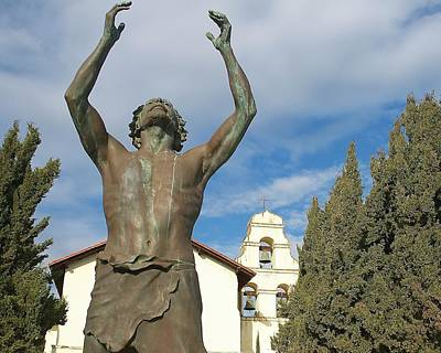 Mission San Juan Bautista Photograph - John The Baptist by Mark Mickelsen